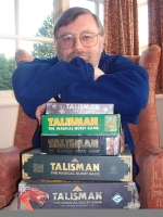Bob with many editions of talisman